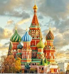 Нова година в Москва